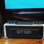 Bluetooth スピーカー『QTOP』が届いた、満足!