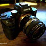 『Sony α7II』に「OMレンズ」を装着