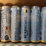 地震に備えてアマゾンから乾電池を取り寄せた