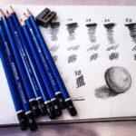 絵を描く筆記用具:ステッドラー鉛筆 ルモグラフ