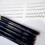 絵を描く筆記用具:サクラクレパス 水性ペン ピグマ (PIGMA)